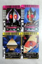 KAMEN RIDER GANBARIDE Japan BLADE KAMEN FINAL ATTACK RIDE FFR 4 Cards Set DECADE