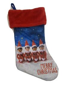New Elf on the Shelf Christmas Stocking