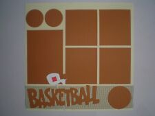 Basketball 1 #903 premade scrapbook pages