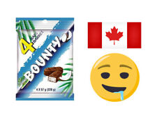 Bounty Coconut Chocolate bar | X4 - 57g | CANADIAN | READ & SAVE
