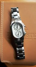 Philip Stein Ladies watch serial no. F154738 Stainless Steel Diamond- Accented