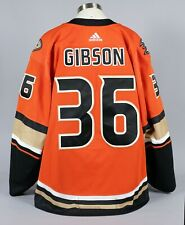 2019-20 John Gibson Anaheim Duck Game Worn Third Jersey Set 2