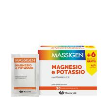 4 confezioni Massigen magnesio e potassio PROMOZIONE 120 BUSTE (OFFERTISSIMA!!!!