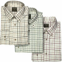 Jack Pyke Men's Countryman Hunting Shooting Checked Checkered Shirt Top S-3XL