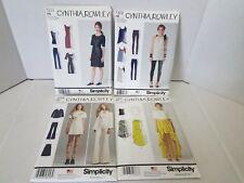 Simplicity Lot of 4 Cynthia Rowley Sewing Patterns Uncut Dress New