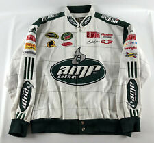 Dale Earnhardt. Jr. Amp Energy Jacket White Chase Authentics - Size XXL