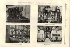 1899 Machinery Of The Dutch Cruiser Noord Brabant