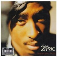"""2PAC """"GREATEST HITS"""" 2 CD NEUWARE HIP HOP BEST OF"""
