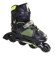 Kids Inline Skates Boys/ girl Skating Roller Blades Size 3 - 5 Black Small