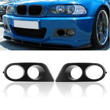 Stoßstange Gitter Abdeckung Nebelscheinwerfer LINKS+RECHTS für BMW E46 M3 01-06