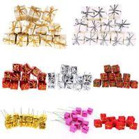 12pcs XMAS Small Candy Gift Boxes Christmas Tree Hanging Decoration Ornaments UK