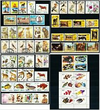 State of Oman Collection of 70 CTO Stamps
