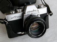 ✅  MINOLTA srT-100x + Rokkor 50mm f1,7 - con garanzia  - 101 303 XD7 XM X700