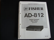Original Service Manual Fisher AD-812