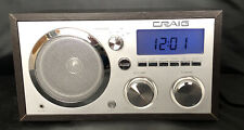 Vintage Craig AM FM Alarm Clock Radio CR4100