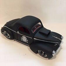 Shyne Rodz Custom 1941 Willys Coupe Bad To The Bone 1:18 Diecast Car