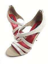 e83d05dcfb1f Charles Jourdan Jillian Strappy Sandal Women s Vanilla platino US Size 7.5 M