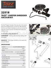 22518 TAZZ Chipper Shredder Mulcher Vacuum Kit Landscaping Lawn Care REFURBISHED