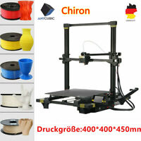 DE ANYCUBIC Impressora 3D Printer Metal Chiron Dual Z-Axis UI TFT 400*400*450mm