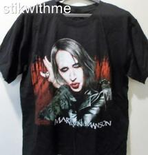NWOT ~  Marilyn Manson ~ Goth M1 Metal SS Crew Neck T-Shirt ( Men's Large) Black