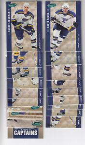 05/06 Parkhurst St. Louis Blues Team Set incl. RC & Inserts - Stempniak RC +