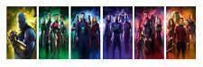 Marvel Avengers - Infinity War Character 6 Split Photo Paper Prints 24x34 Inch