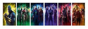 Marvel Avengers - Infinity War Character 6 Split Photo Paper Prints 16x24 Inch