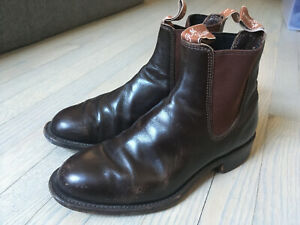 RM Williams Chelsea Boots AU5 Made in Australia
