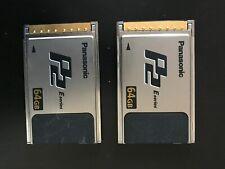 Panasonic 64GB P2 Card - perfettamente funzionanti