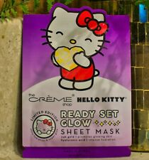 The Creme Shop X Hello Kitty Ready Set Glow Sheet Face Mask Korean Beauty