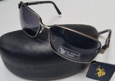 US POLO ASSN Sunglasses Gunmetal New w / Tags & Hard Case Mens Unisex SM2 83080
