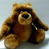 Bear Plush Stuffed Collectible Sitting Creations from TL Toys H.K Hong Kong