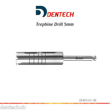 TREPHINE DRILL 5MM IRRIGATION DENTAL INSTRUMENTS - SURGICAL IMPLANT LAB TOOLS