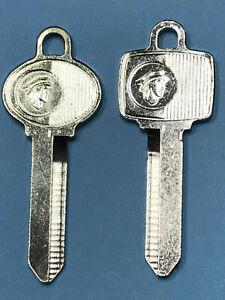 MERCURY Vintage Key Blank Set, NOS OEM, US Built Models 1965 - early 90's