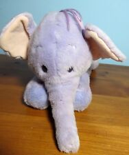 Disney Store Exclusive Patch Lumpy Heffalump Plush Purple Elephant plush