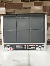 Roland Spd-S 9-Pad Sampling Drum Midi Controller No Plug No Further Tested