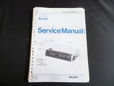 Original Service Manual Philips  90RS250