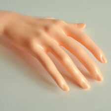 Mannequin Hand Arm Display Base Female Gloves Jewelry Model Stand Short Skin