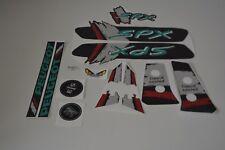 kit autocollant peugeot 103 SPX couleur noir REF:MOB067