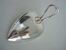 GORHAM sterling silver ~ 1 HEART PLACE CARD MENU HOLDERS ~ 11 AVAIL ~ SUPERB!