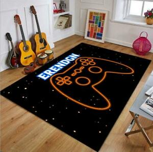 3D Gamer Black Rug Video Games Doormat Door PlayStation Floor Mat Carpet NEW E21
