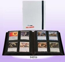 ULTRA PRO WHITE 4 POCKET PRO-BINDER Album Binder New Holds 160 Cards MTG
