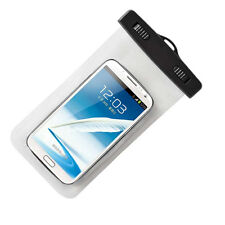 Waterproof Underwater Case Bag Pouch for Mobile Phones iPhone 6 Samsung - White