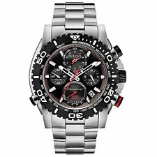 Bulova Precisionist Men's 98B212 Quartz Chronograph Sport 47.5mm Watch