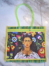 Frida Kahlo Tote Bag 2 - Long Handle plus Zip Pocket - great for anytime REDUCED