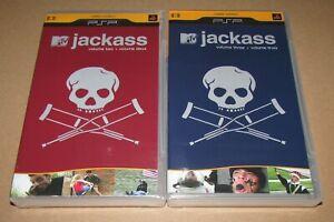 Jackass Vol. 2 & Vol. 3 (PSP UMD) Brand New / Fast Shipping