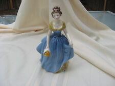 "Royal Doulton Bone China Melanie Figurine 7 3/4"" Tall Hn 2271 England Very Nice"