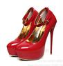 Women High Heels Platform Strap Mens Crossdresser Queen Stiletto Shoes lit01