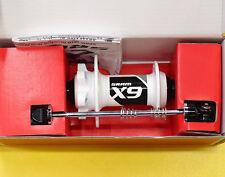 SRAM X9 X.9 V2 Front MTB Disc Hub 9x100mm Quick Release QR Skewer, White, NIB
