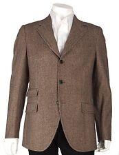 $2495 NEW Dolce & Gabbana D&G US Mens 40R EUR 50R Sport Coat Blazer Jacket Brown